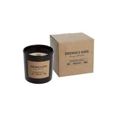 Obrázok BISPOL sviečka cedarwood a vanila 300g